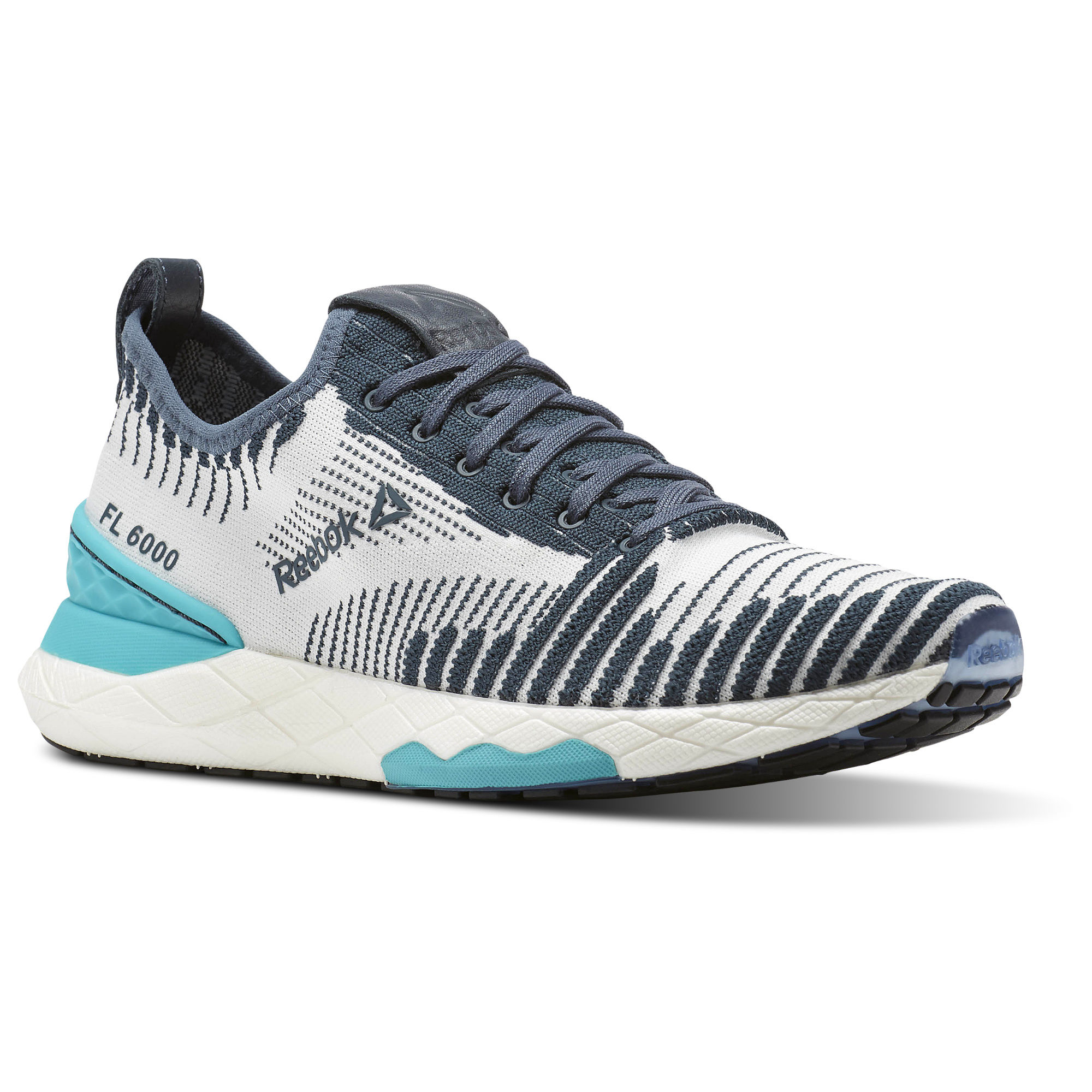 Reebok Floatride 6000 Womens Grey/Turquoise/White Sneakers (996ORZHK)