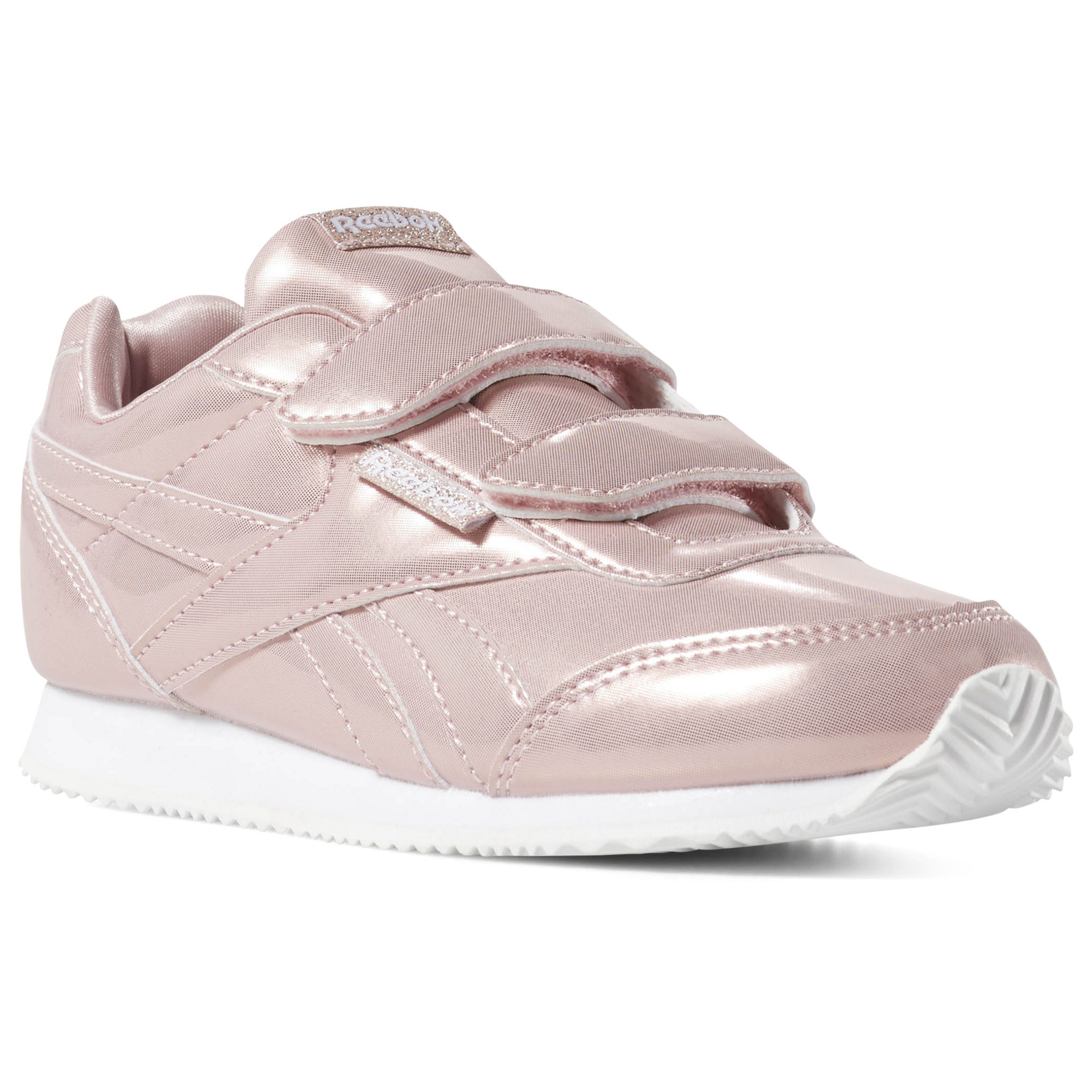 Reebok Royal Classic Jog 2 Girls Pink/White Sneakers (511GRAHK)
