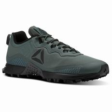 Reebok All Terrain Craze Mens Grey/Black/Grey Running Shoes (362XGADO)