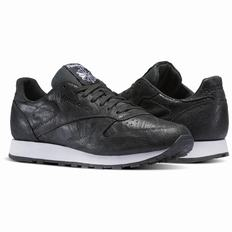 Reebok Classic Leather Celebrate the Elements Pack Mens Black/White Sneakers (501MIWGT)