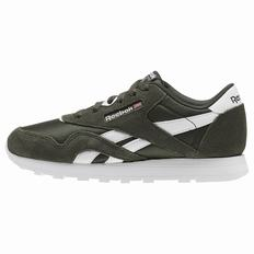 Reebok Classic Nylon - Pre-School Girls Dark/White Sneakers (829VAQWB)