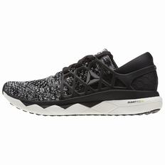 Reebok Custom Floatride Run Womens Black/White Running Shoes (738VLXKB)