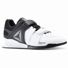 Reebok Legacy Lifter Mens White/Black Training Shoes (303GECWH)