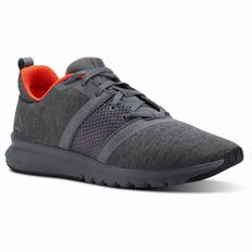 Reebok Print Lite Rush Mens Red Running Shoes (792PKIBJ)