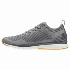 Reebok Print Smooth 2.0 ULTK Mens Grey Running Shoes (468MPBEJ)