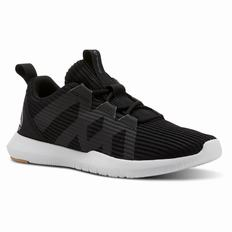 Reebok Reago Pulse Womens Black/Brown/Grey Training Shoes (958IBMCR)