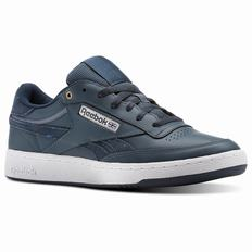 Reebok Revenge Plus Mens Deep/White Sneakers (219KGBJU)