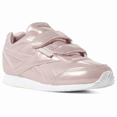 Reebok Royal Classic Jog 2 Girls Pink/White Sneakers (511GRAHK) [511GRAHK]