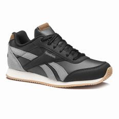 Reebok Royal Classic Jogger 2.0 Boys Black/Deep Grey/Cream Sneakers (403MHKUR)
