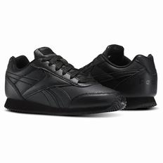 Reebok Royal Classic Jogger 2.0 Boys Black Sneakers (517SRWXT)