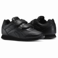 Reebok Royal Classic Jogger Boys Black Sneakers (974XPAZM)