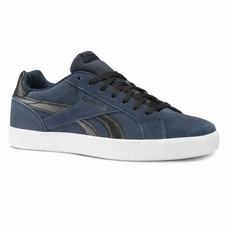 Reebok Royal Complete 2LS Mens Navy/Black/White Sneakers (215SJVKY)