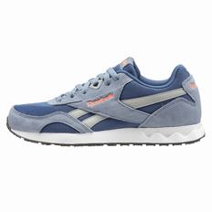 Reebok Royal Connect Mens Blue/Blue/Red Sneakers (167DTNUM)