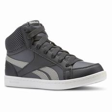 Reebok Royal Prime Mid Boys Deep Grey/Dark Grey/White Sneakers High (413PBMFY)
