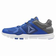 Reebok YourFlex Train 10 Boys Blue/White Training Shoes (477RQTEH)